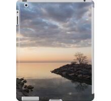 Reflecting on Quiet, Peaceful Mornings iPad Case/Skin