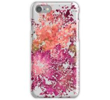 Meshed Up Summer Blossoms iPhone Case/Skin