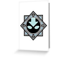 The spirit of the Avatar Greeting Card