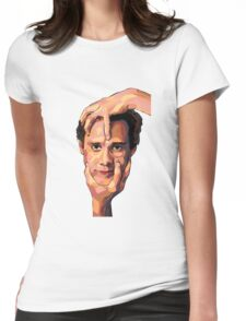 Jim Carrey Womens Fitted T-Shirt