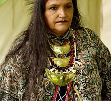 Beautiful Native American Indian Woman by James Formo