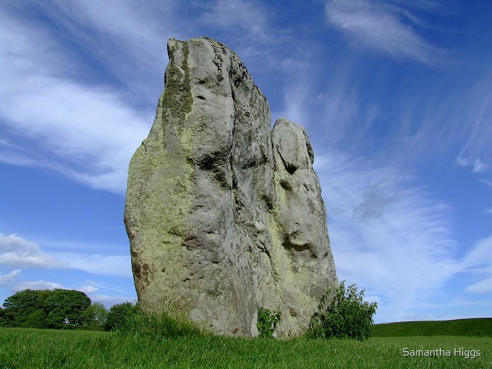 Avebury Stone by Samantha Higgs