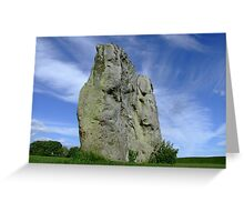 Avebury Stone Greeting Card