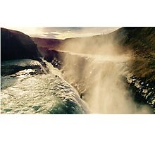 Gullfoss Waterfall [3] Photographic Print