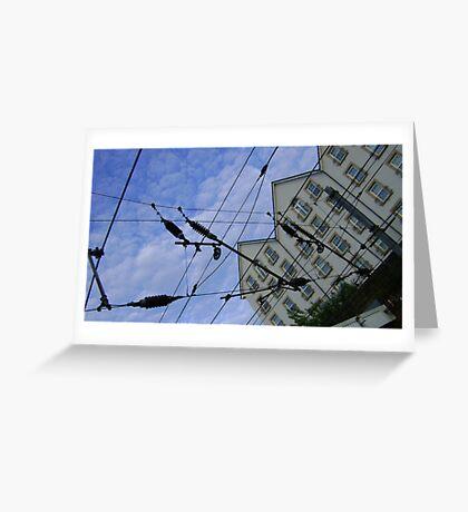 house web Greeting Card