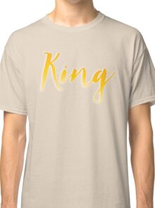 King in gold Classic T-Shirt