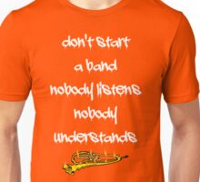 Reel Big Fish ~ Don't Start A Band Graffiti Unisex T-Shirt