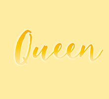 Queen in gold by jazzydevil