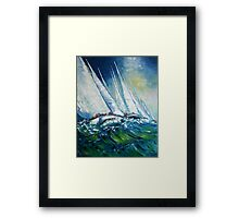 The Tall Ships' Races Framed Print