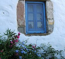 Blue frame by Inese