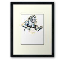 Geddy Lee From Rush Framed Print