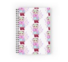 Pastel Goth Girl Spiral Notebook