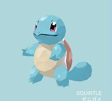 Squirtle Low Poly by meowzilla