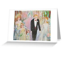 Barbie and Ken Wedding Greeting Card