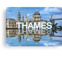 Thames Television 1970s Canvas Print