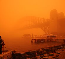 Sydney Dust Storm by amberhooper