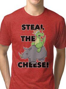 King Raptor Tri-blend T-Shirt