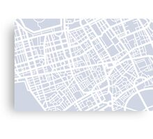 Minimal Maps - London U.K Canvas Print