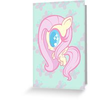 Weeny My Little Pony- Fluttershy Greeting Card