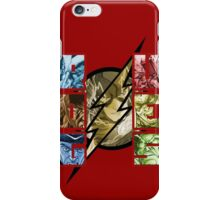 FLASH VS ROGUES iPhone Case/Skin