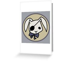 Bitter Rabbit - Black Butler Greeting Card