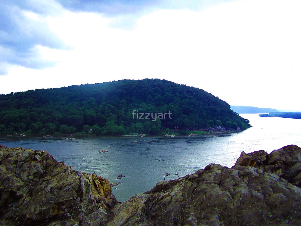 The View From Chickie's Rock by fizzyart
