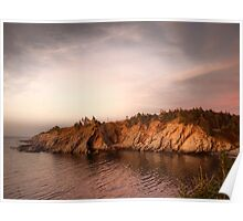 Smuggler's Cove Sunset Poster