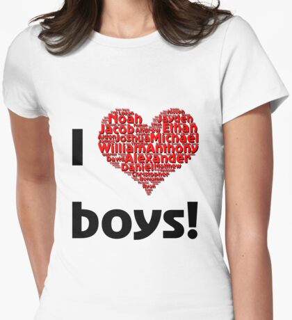 I love boys (T-Shirt & iPhone case) T-Shirt