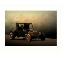 "1923 Ford ""The High Topper Bucket"" Art Print"