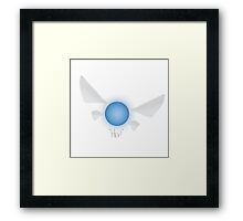 "Navi ""hey!"" Framed Print"