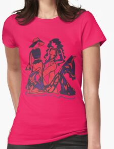 70's Series 10 Womens Fitted T-Shirt