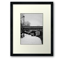 Dedicated to their sport Framed Print