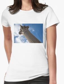 The Grandeur of Pompeii - a Corinthian Capital Column in the Sky T-Shirt