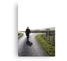 Groom at cross-roads Canvas Print