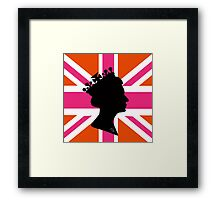 GOD SAVE THE QUEEN! Framed Print