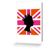 GOD SAVE THE QUEEN! Greeting Card