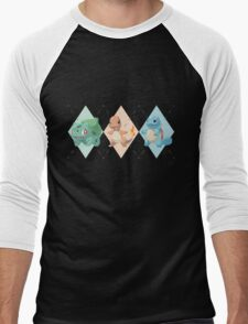Pokemon Low Poly - 1st Gen Starters T-Shirt