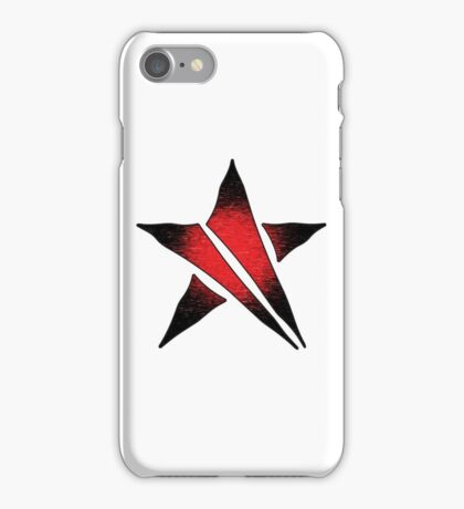 The Shattered Star (Red Alt 2) iPhone Case/Skin