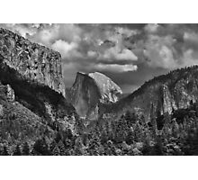 Yosemite - The Half Dome Photographic Print