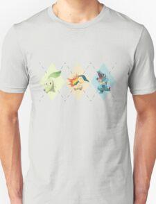 Pokemon Low Poly - 2nd Gen Starters T-Shirt