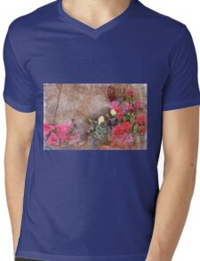 Even Squirrels Stop to Smell the Flowers #2 Mens V-Neck T-Shirt