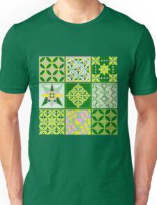 Sweet lovers love the Spring - Quasi-Quilt Unisex T-Shirt
