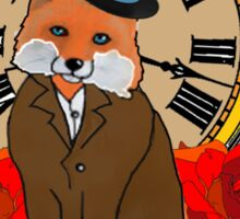 Formal and Timeless Fox Sticker