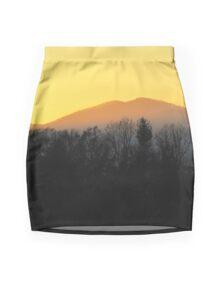 Last Rays Mini Skirt