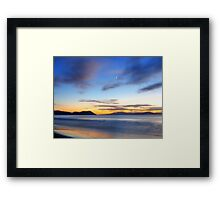 Morning in Marion Bay Framed Print