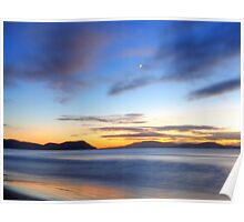 Morning in Marion Bay Poster