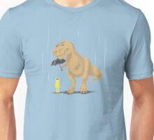 Raindrops Keep Fallin' on My T-Rex Unisex T-Shirt