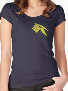 New Dead Robin Logo Batman v Superman Women's Fitted Scoop T-Shirt