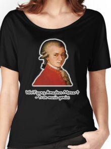 Wolfgang Amadeus Mozart Women's Relaxed Fit T-Shirt