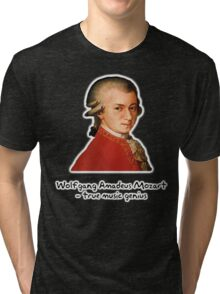 Wolfgang Amadeus Mozart Tri-blend T-Shirt